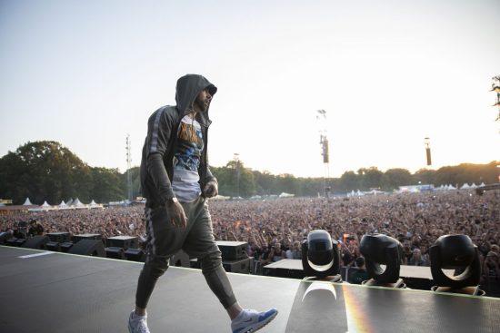 Eminem's 2018 performance at Netherlands Nijmegen Revival Tour. Photo Credit: Jeremy Deputat