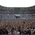 Eminem's 2018 performance at London day 1 UK Revival Tour. Photo Credit: Jeremy Deputat