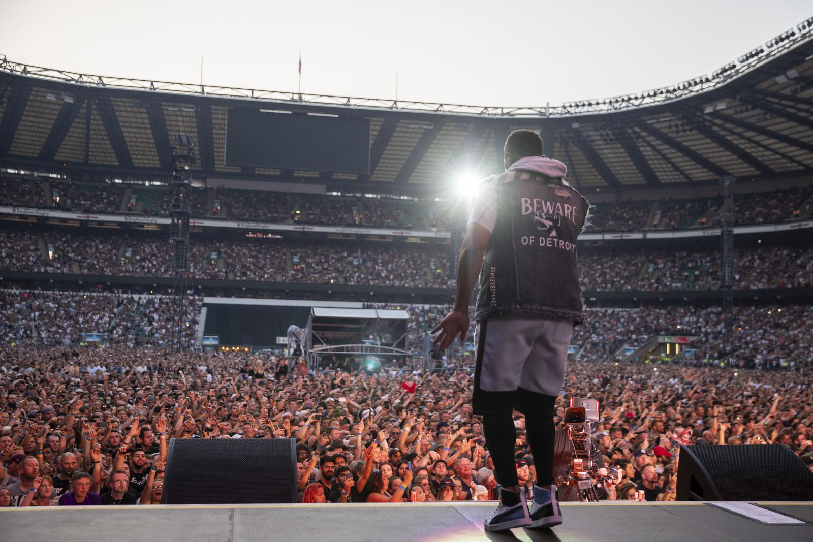 Eminem's 2018 performance in Oslo, Norway Revival Tour. Photo Credit: Jeremy Deputat