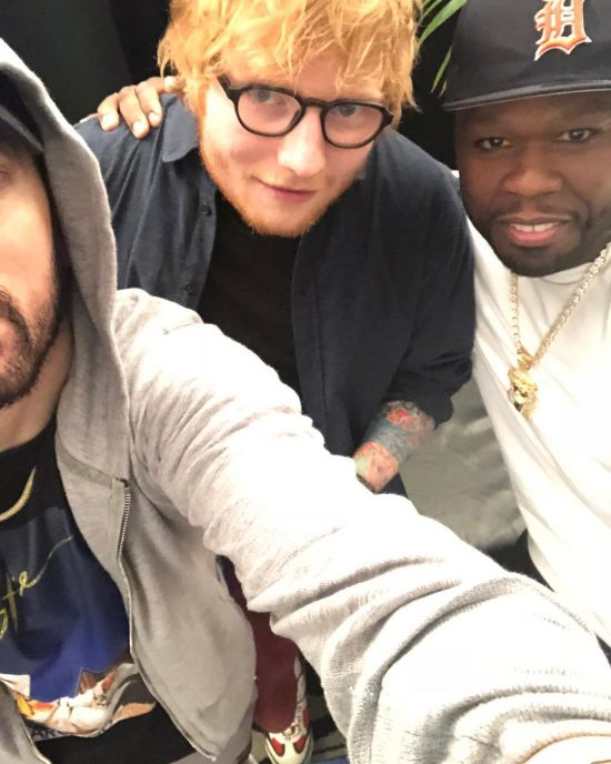 2018.07.15 - Eminem, 50 Cent and Ed Sheeran