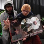 2018.07.15 - Eminem and Ed Sheeran