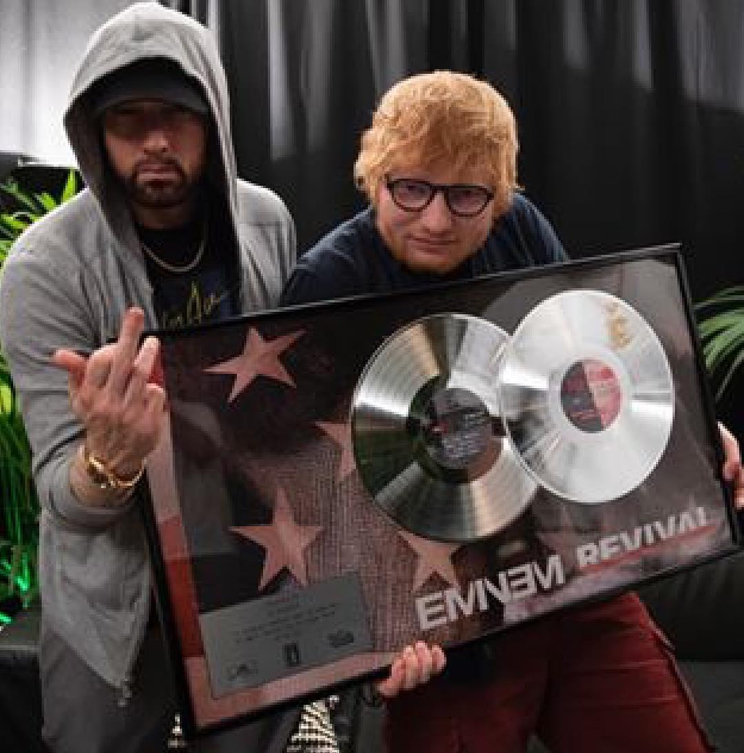2018.07.15 - Eminem, 50 Cent and Ed Sheeran