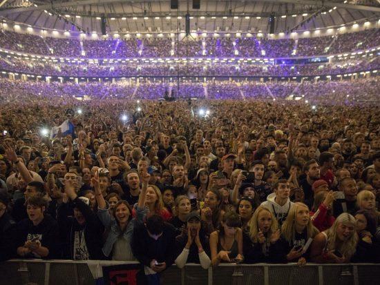 Eminem Стокгольм 2018