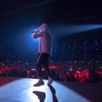 Eminem's 2018 performance in Stockholm, Sweden Revival Tour. Photo Credit: Jeremy Deputat