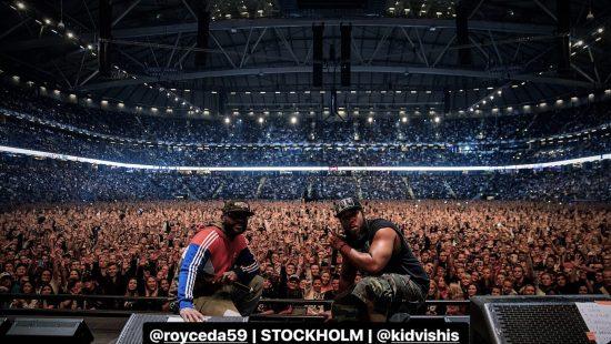 Eminem.Pro Royce 5'9 Стокгольм