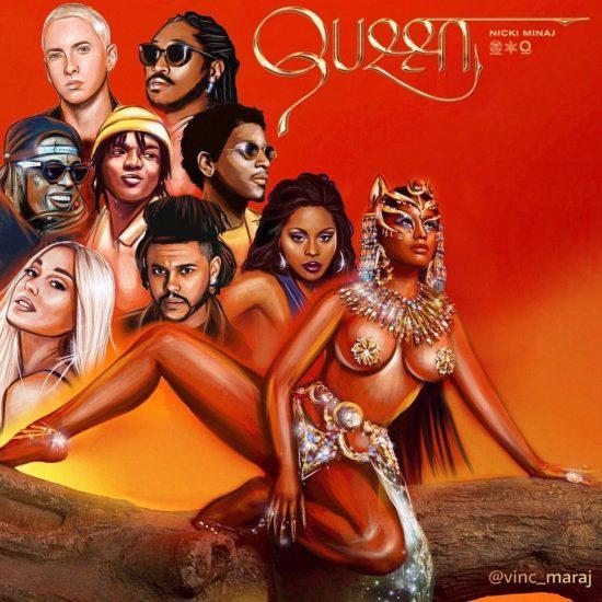 Nicki Minaj об Эминеме с благодарностью за гостевое участие на «Queen»