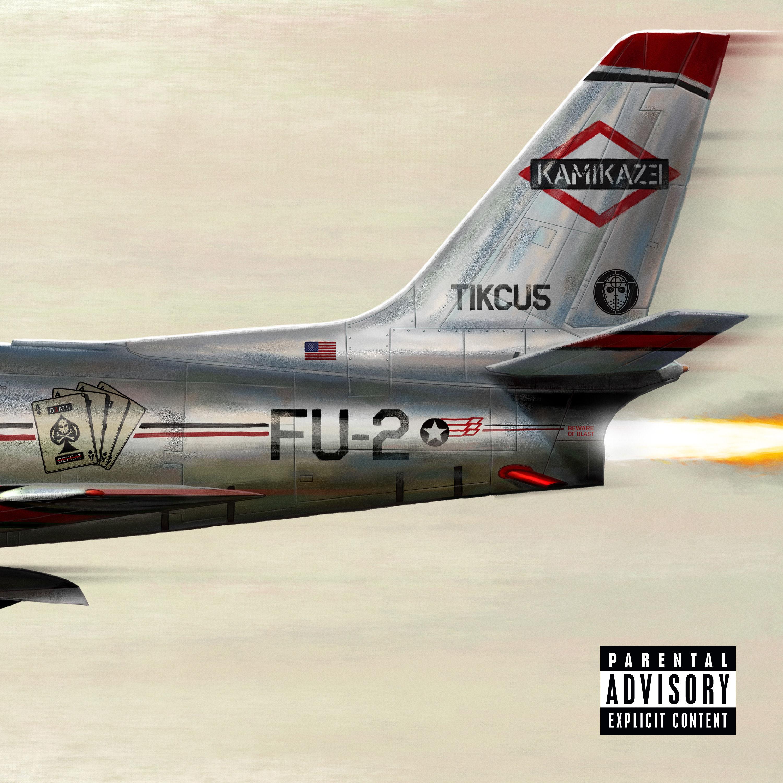 [Мировая премьера] Новый альбом Eminem'а — «Kamikaze»