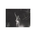 """Литография 20x15"""" черно-белого фото Эминема с Revival Tour. Фото - JD."""
