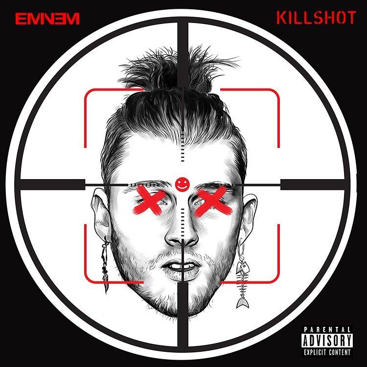 Eminem выпустил ответный дисс-трек на MGK! «Killshot»