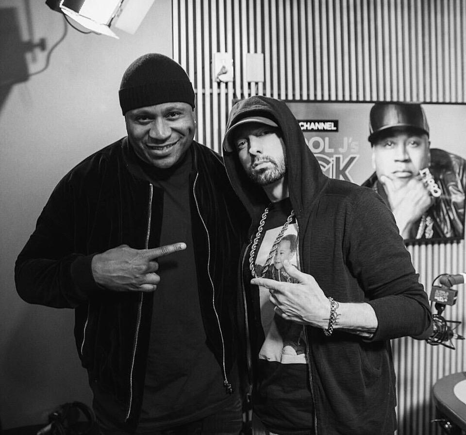 Eminem выпустил новый тизер грядущего интервью с LL Cool J