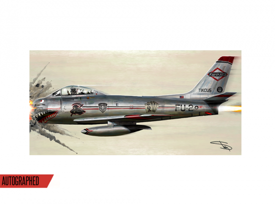 "This is a pre-order and is expected to ship in 8-10 weeks.  Exclusive and limited Kamikaze merchandise.  Official album art on a 24 x 12"" lithograph autographed by Eminem. Limited amount of autographed lithographs available until sold out."