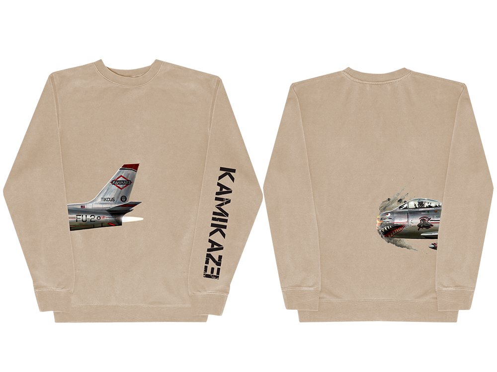 This is a pre-order and is expected to ship in 8-10 weeks. Exclusive and limited Kamikaze merchandise. Official album art on a 24 x 12