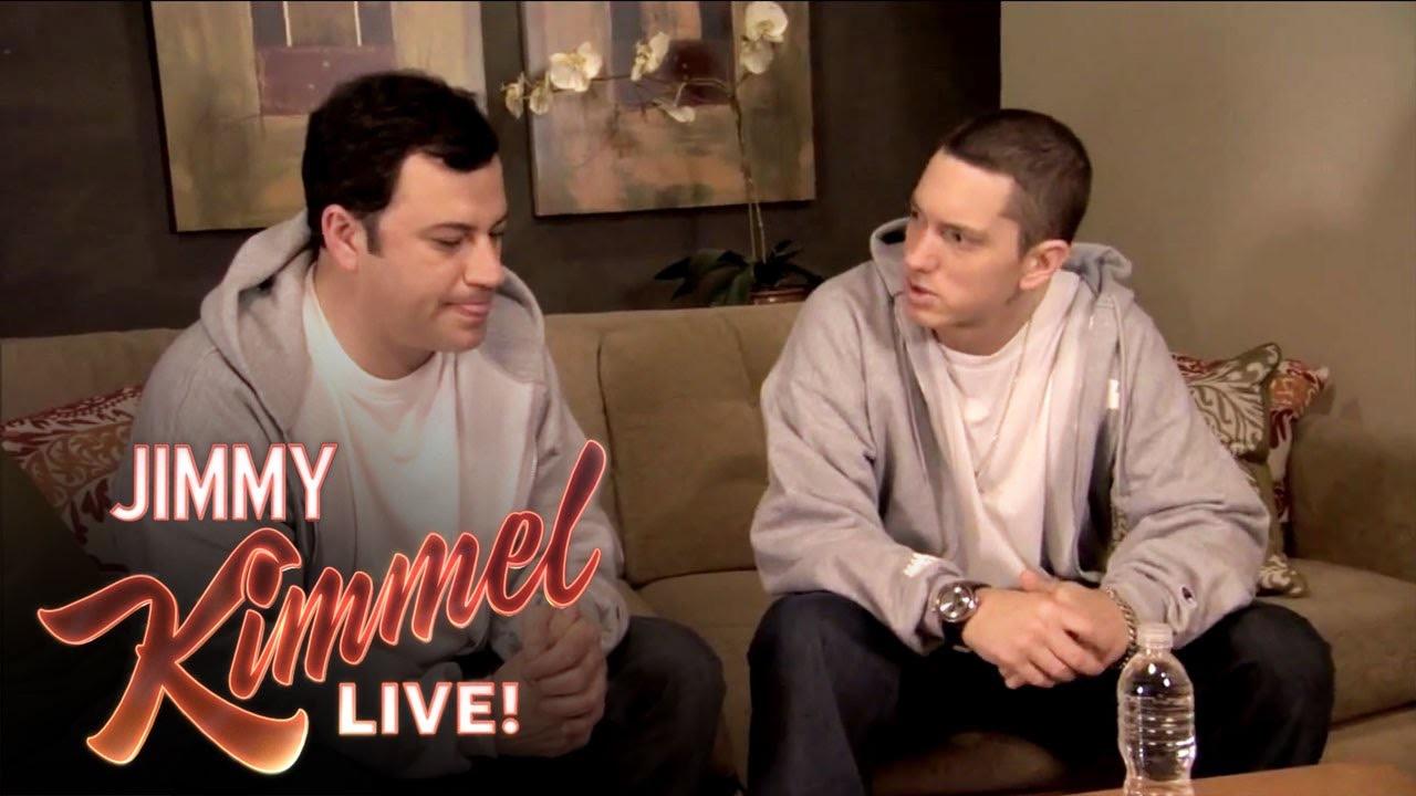 Eminem стает гостем на шоу «Jimmy Kimmel Live»