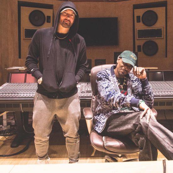 Eminem и Snoop Dogg работают в студии