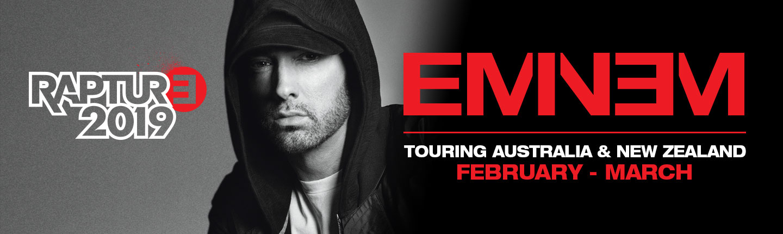 Rapture 2019: Eminem отправляется с концертами в Австралию и Новую Зеландию