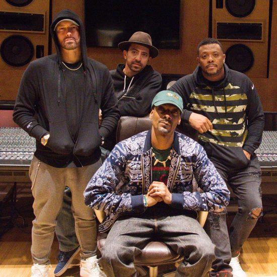 2018.10.25 - Eminem Snoop Dogg Mr. Porter Fredwreck 3