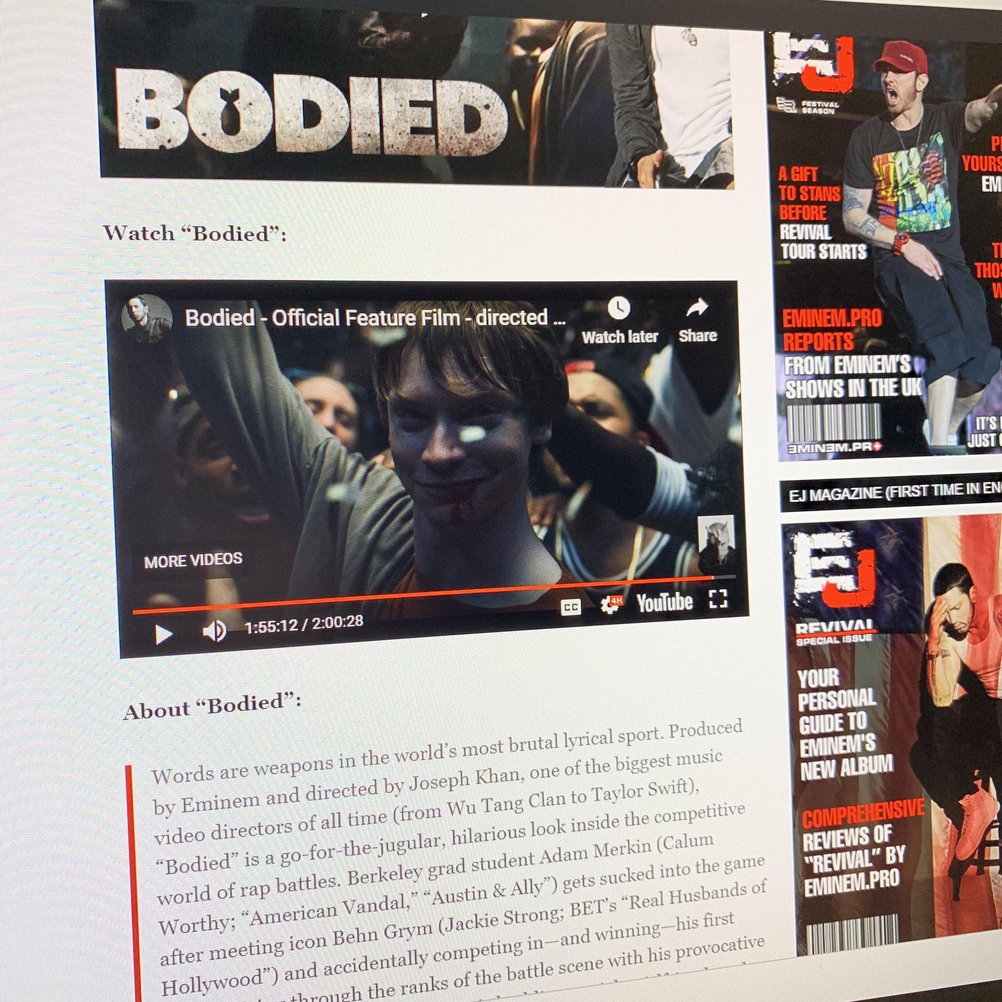 Выйдет ли фильм «Bodied» в России и как посмотреть новинку от Эминема бесплатно и стоит ли её смотреть?