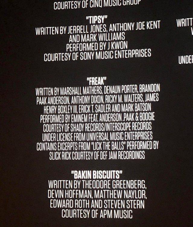 В качестве гостей на треке Эминема «Freak» участвуют Anderson .Paak и новичок лейбла Shady Records Boogie.