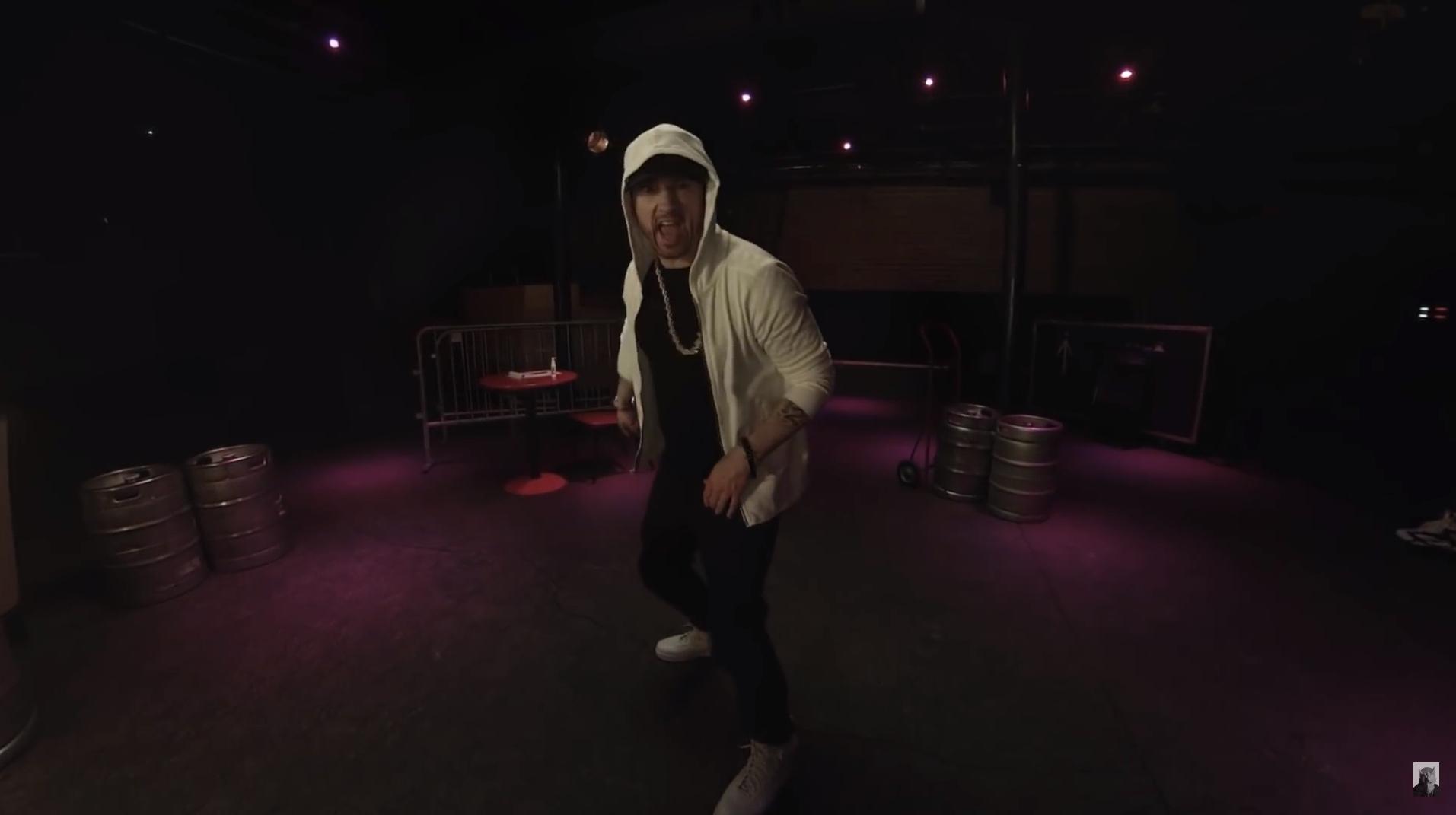 [Мировая премьера] Eminem выпустил новый фристайл