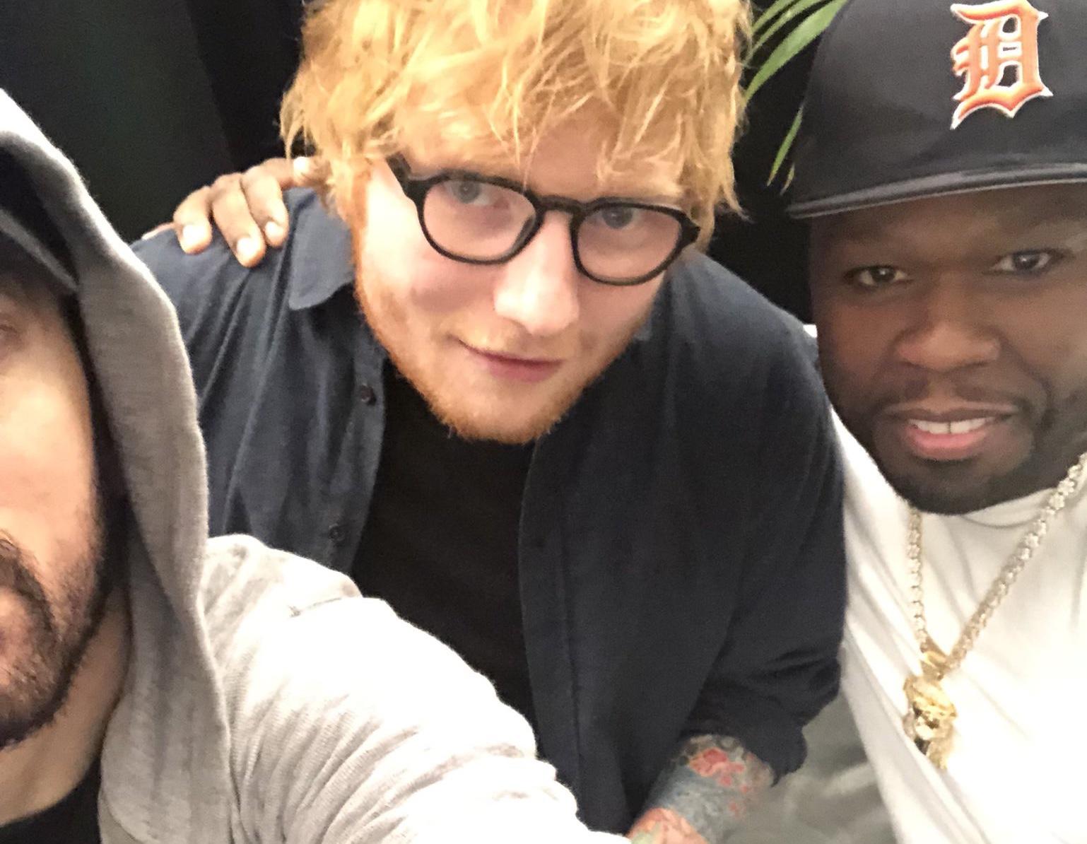 Eminem 50 Cent Ed Sheeran