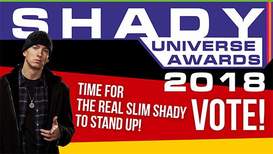 Shady Universe Awards 2018: Голосование года