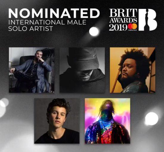 Eminem получил номинацию на BRIT Awards 2019!