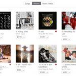 В обще-альбомном чарте iTunes в США «Everythings For Sale» уверенно движится к вершине, занимая на текущий момент пятое место.