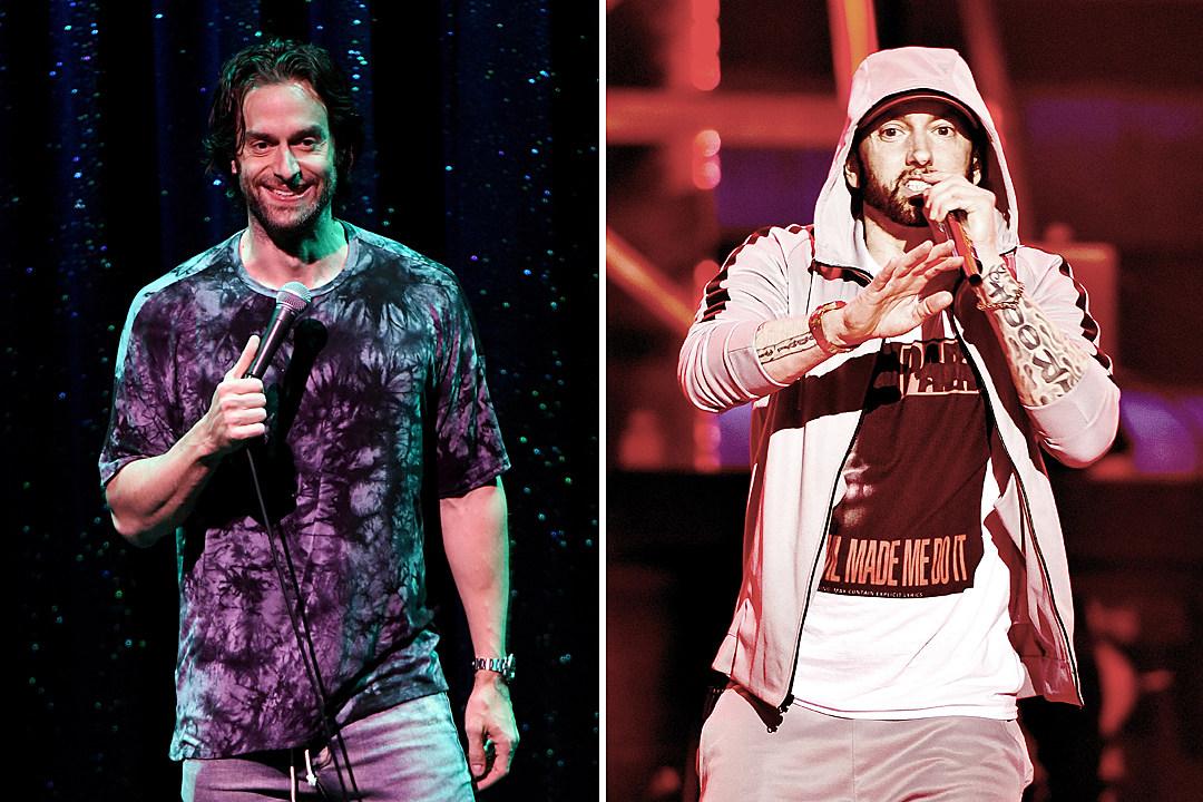 Eminem ответил на пародию «Kick Off» от Криса Д'Елия