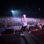 Eminem live at Wellington 2019 Rapture Tour. Photos by Jeremy Deputat.