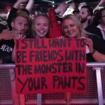 Eminem live at Wellington 2019 Rapture Tour. Photos by Jeremy Deputat.
