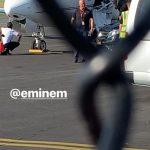 Eminem прилетает в Брисбен перед своим шоу
