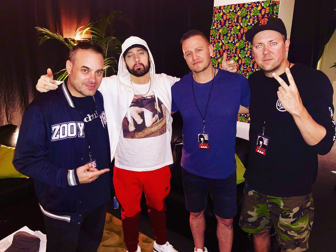 2019.03.02 - Eminem x Hilltop Hoods Westpac Stadium Wellington 2
