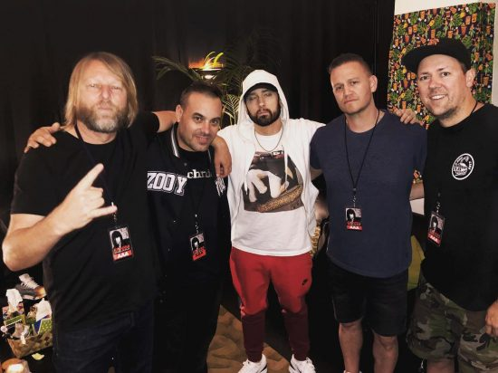 2019.03.02 - Eminem x Hilltop Hoods Westpac Stadium Wellington