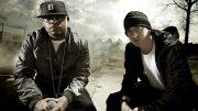 Bad Meets Evil. 2011 год. Фотосессия Эминема и Royce 5'9 для обложки и буклета их мини альбома «Hell: The Sequel». ???? Фото by Danny Hastings