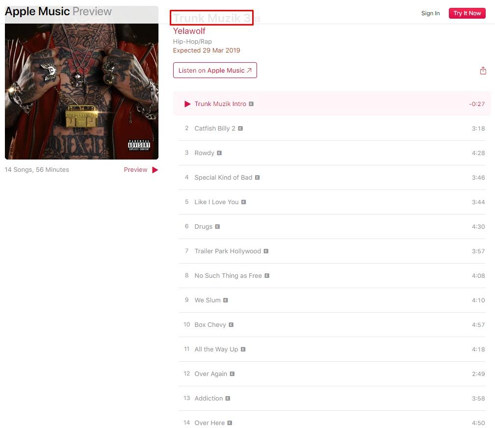 Последний альбом Yelawolf'а на Shady Records выходит в конце марта!