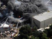 Пожар в Universal Studios Hollywood, который произошёл рано утром 1 июня 2008 года