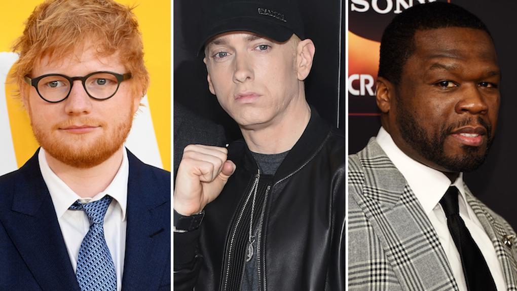 [Мировая премьера] Ed Sheeran ft. Eminem & 50 Cent — «Remember The Name»