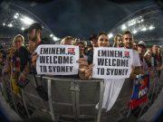 Листовки Eminem.Pro, концерт Эминема