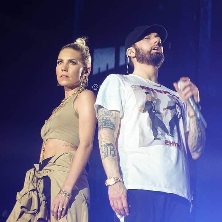 Eminem Skylar Grey 2019 Abu Dhabi
