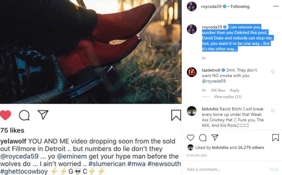 Trick Trick угрожает Yelawolf'у из-за бифа с Royce 5'9