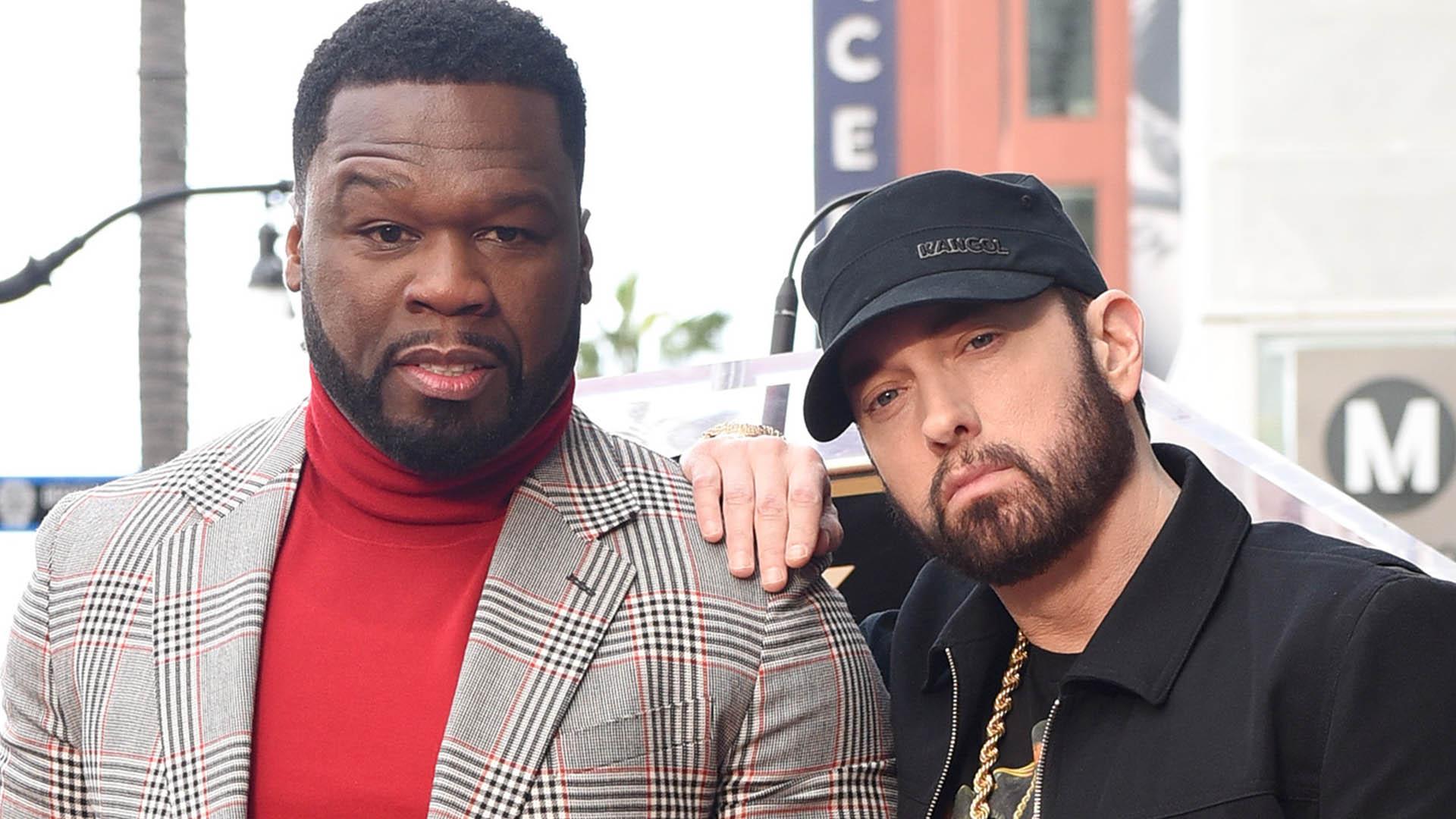 50 Cent и Эминем в Голливуде