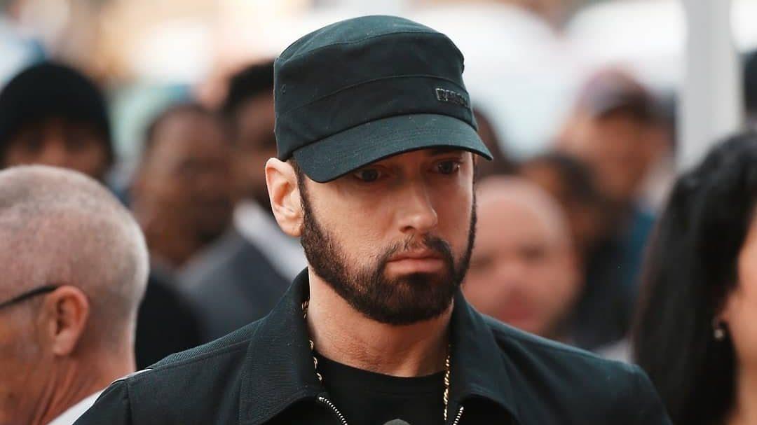 Eminem на Аллее Славы в Голливуде