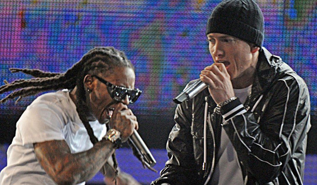 Lil Wayne и Eminem на Грэмми в 2010