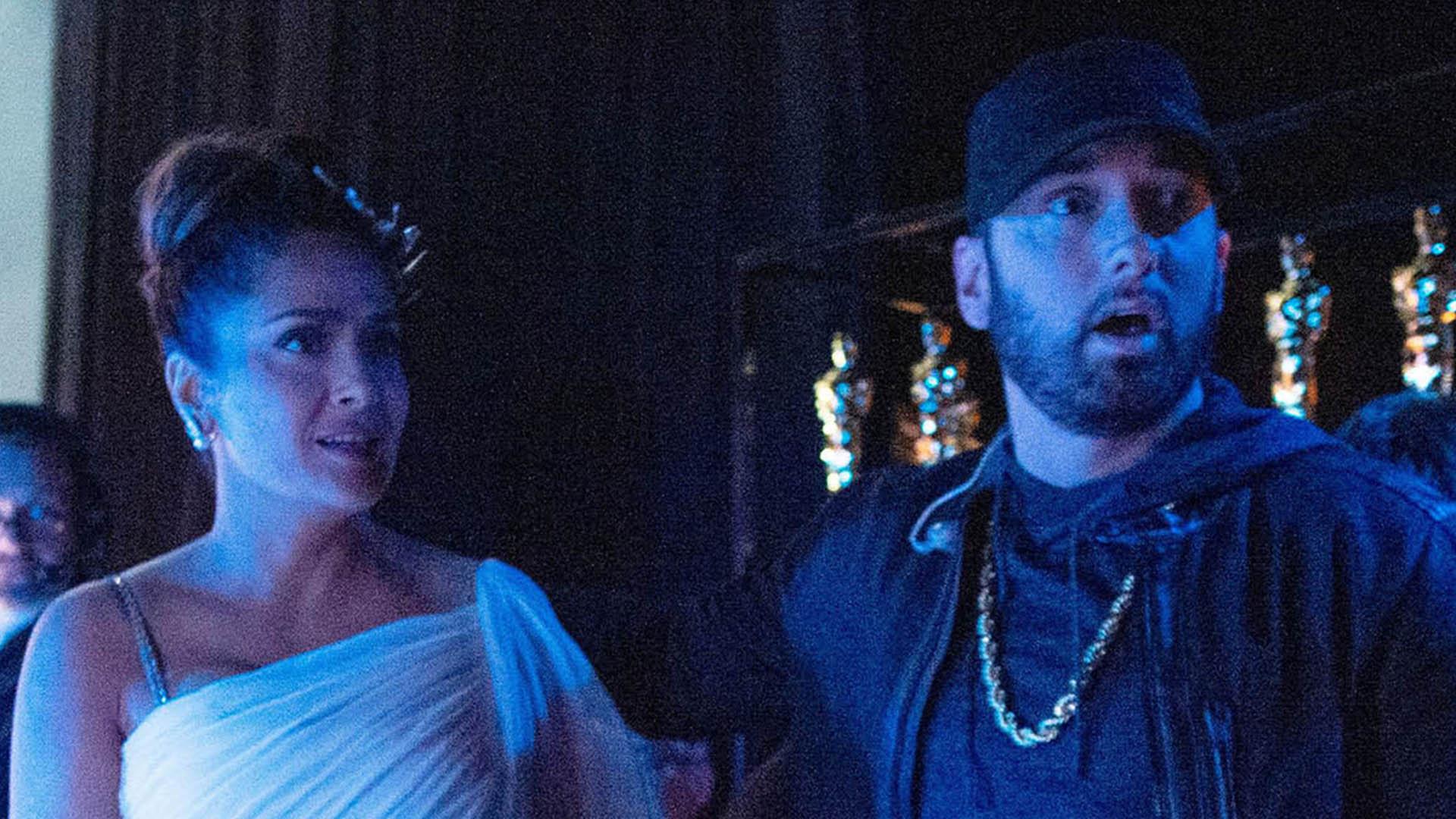 Сальма Хаек и Эминем встретились на Оскаре