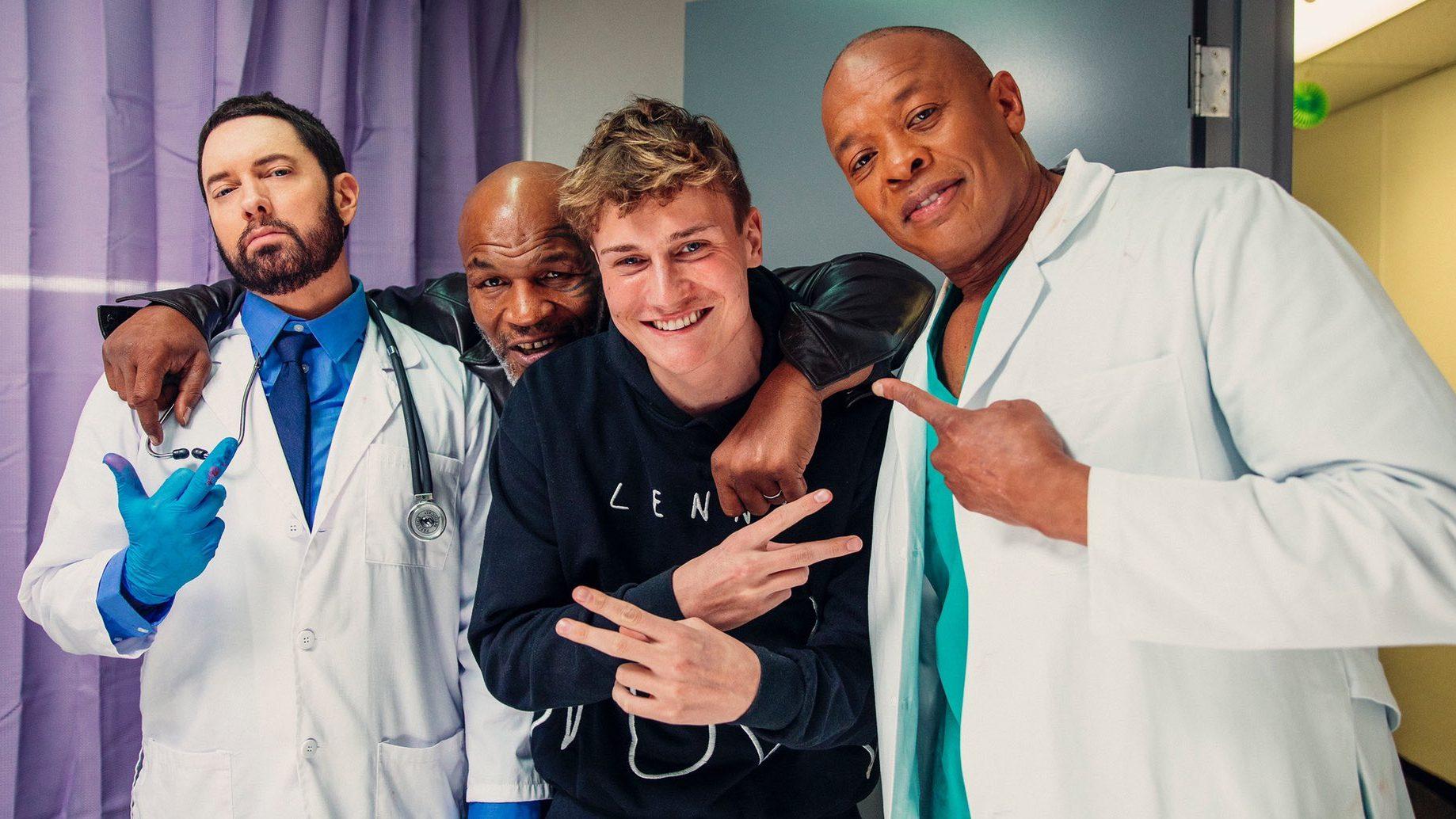 Эминем, Тайсон, Беннет и Dr. Dre