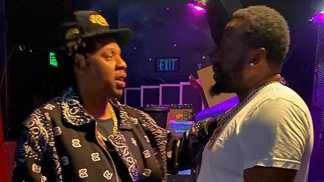 Jay Z и Конвэй в Лос-Анджелесе