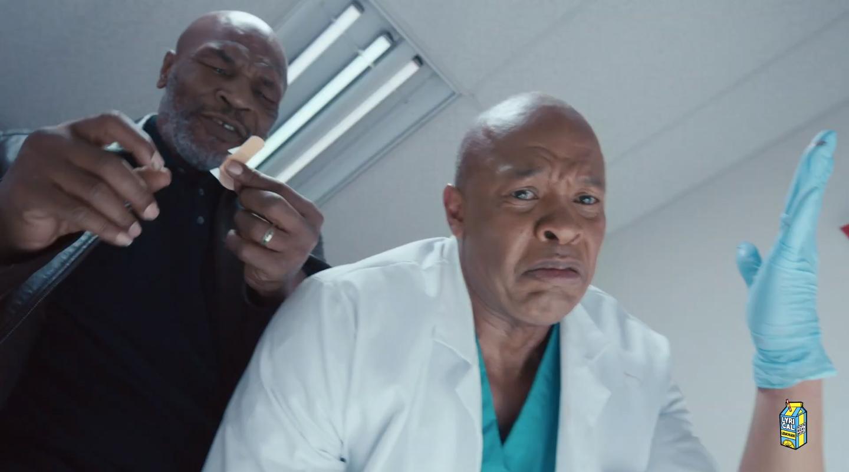 Майк Тайсон и Dr. Dre в клипе