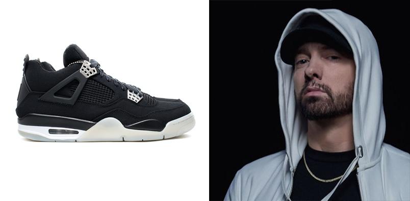 Эминем пожертвовал пару Jordan 4 Retro Eminem x Carhartt в благотворительный фонд