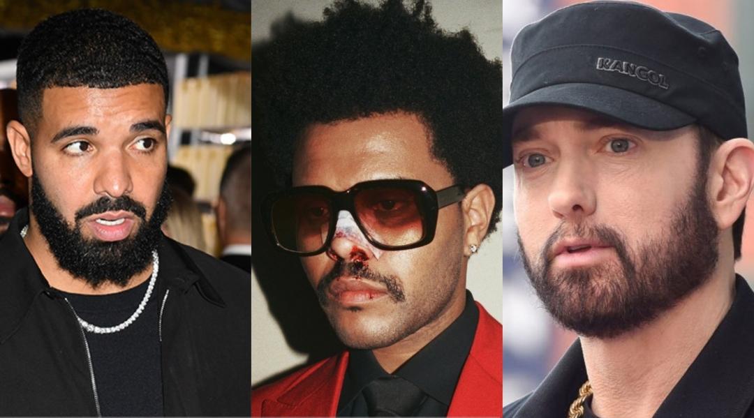 Дрейк, The Weeknd и Эминем