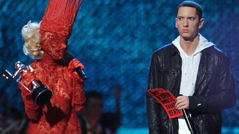 Эминем и Леди Гага на VMA 2009
